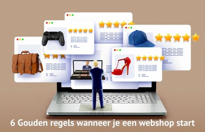 Gouden regels voor een startende webshop