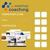WebshopCoaching stempelkaart met 20 uur webshop support