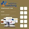 WebshopCoaching stempelkaart van 5 uur webshop support