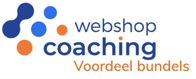 WebshopCoaching voordeel bundels voor eCom