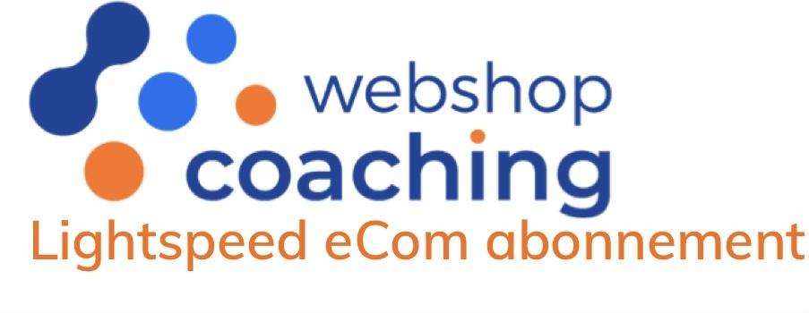 Lightspeed webshop abonnementen powered by WebshopCoaching
