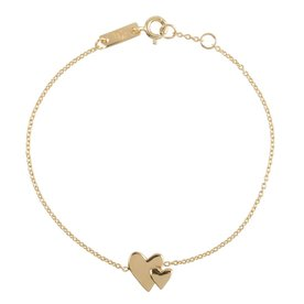 Lennebelle Petites mother Our hearts beat as one – bracelet - goud