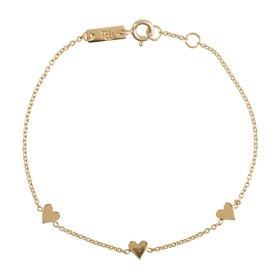 Lennebelle Petites mother You are loved for eternity – bracelet - goud