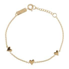 Lennebelle Petites daughter You are loved for eternity – bracelet - goud