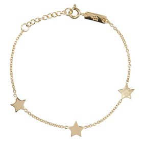 Lennebelle Petites daughter You are my shining star –  bracelet - goud