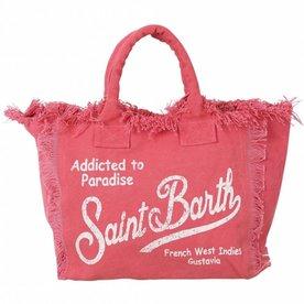 MC2 Saint Barth Strandtas Addicted to paradise pink