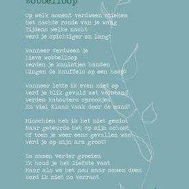 Lentezoet Poster Wobbelloop