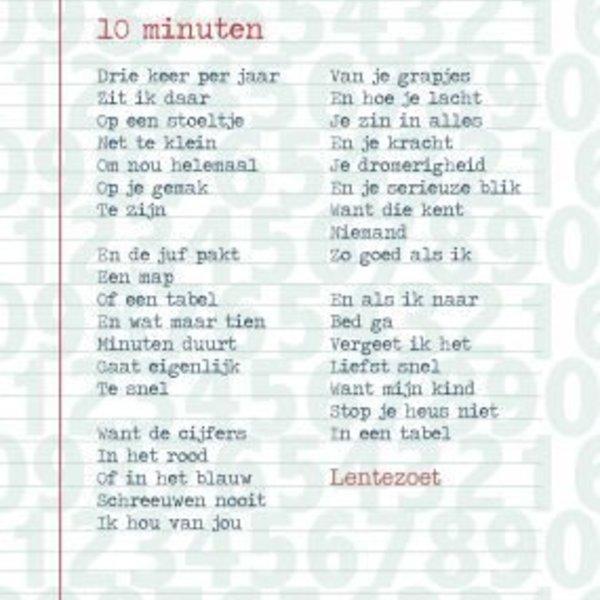 Lentezoet Poster 10 minuten