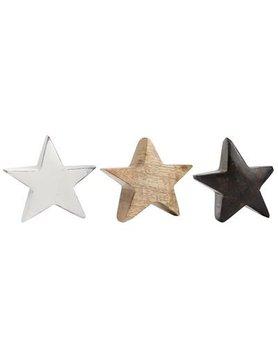 IB Laursen 3er Holz Sterne