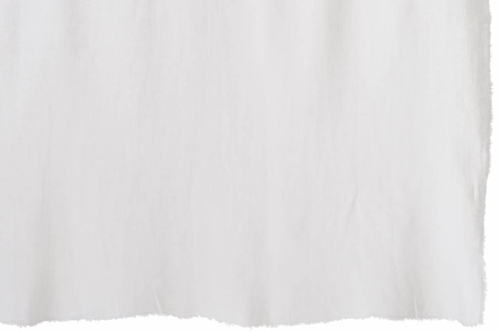 J-Line Linen Plaid white 200 x 150