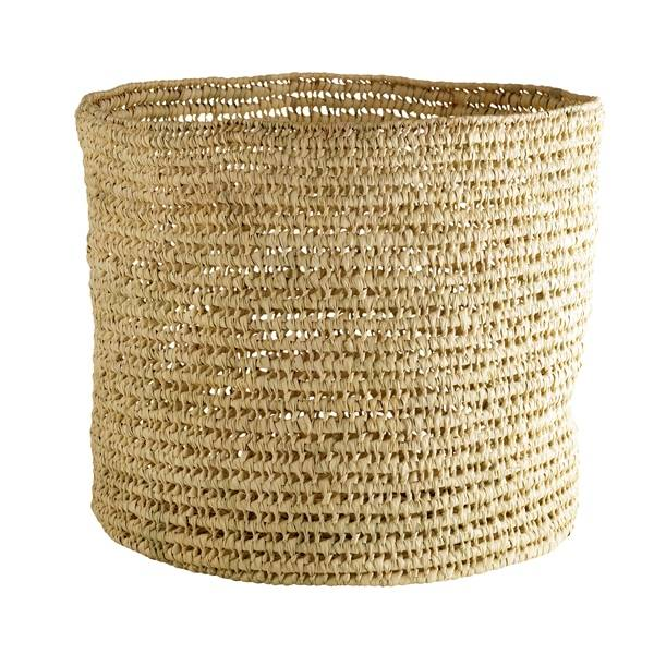 Tinekhome palm leaves Basket L
