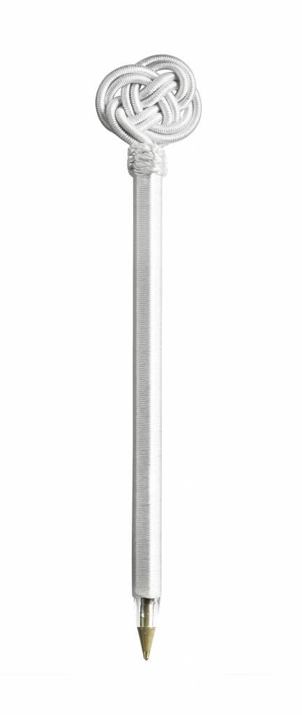Tinekhome Kugelschreiber mit Seide weiß