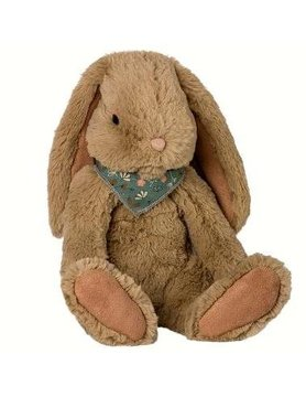 Maileg Fluffy Bunny brown L