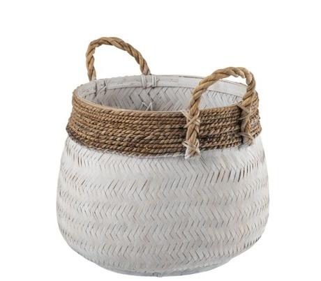 J-Line Basket white