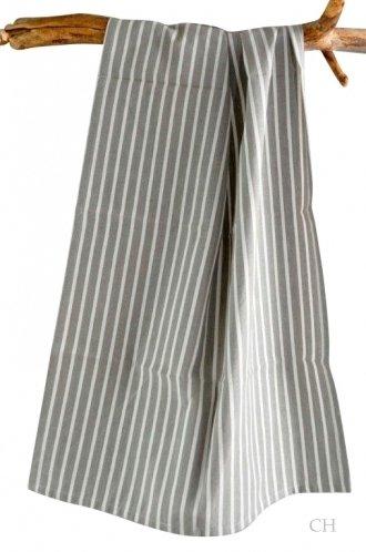 Küchentuch grau mit Streifen