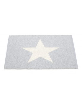 Pappelina Viggo Star one Grey/Vanilla 90 x 70