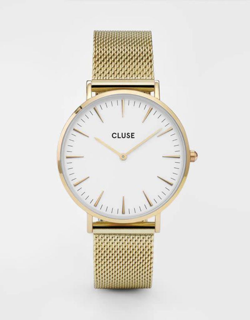 Cluse La Boheme Mesh Gold/White