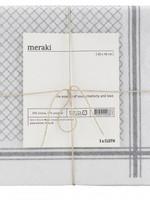 Meraki Vaatdoek Meraki - Grey white