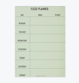 Design Letters Weekly Food Planner