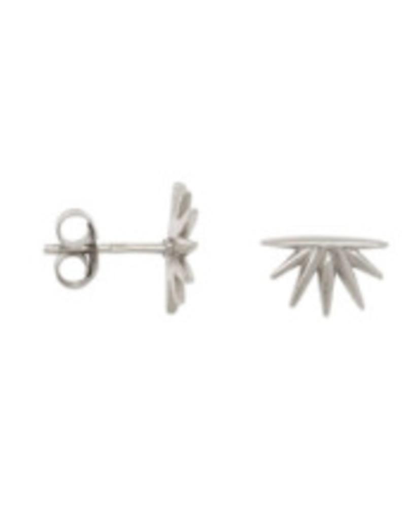 Eline Rosina Sunrise earring silver