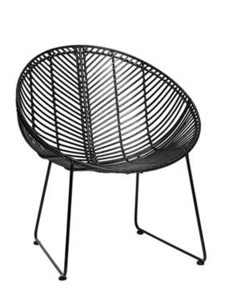 Hubsch Chair, round, rattan
