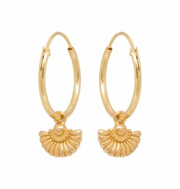 Eline Rosina Deco waiver hoops gold