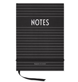 Design Letters Note Book
