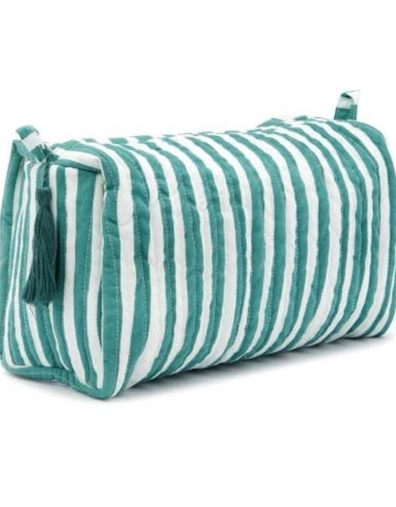 Anna + Nina Striped Wash Bag