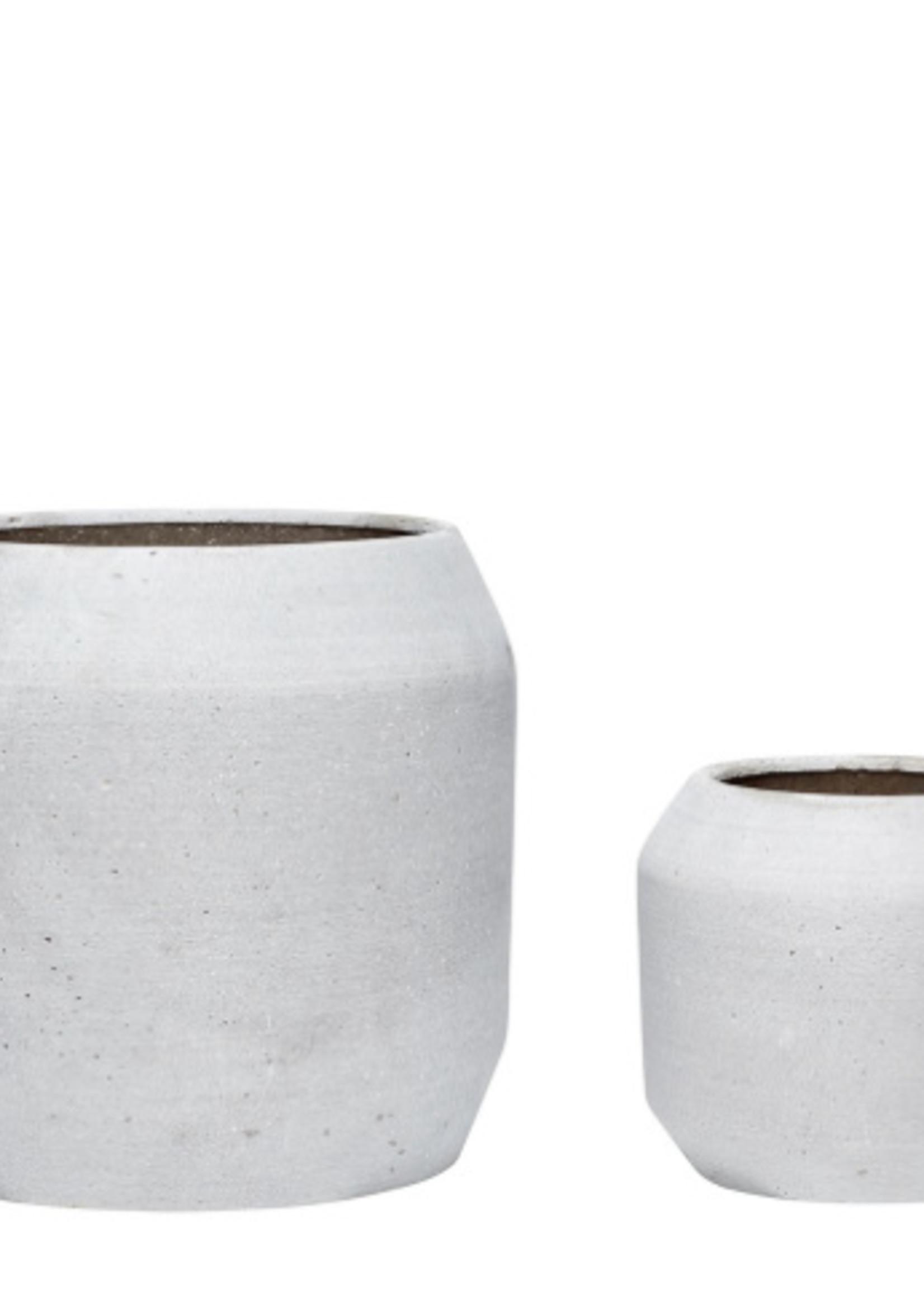 Hubsch Ceramics pot grey (small)