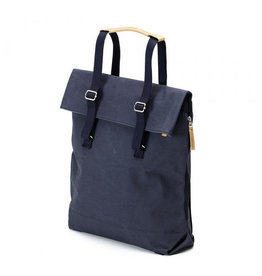 QWSTION Day Tote navy