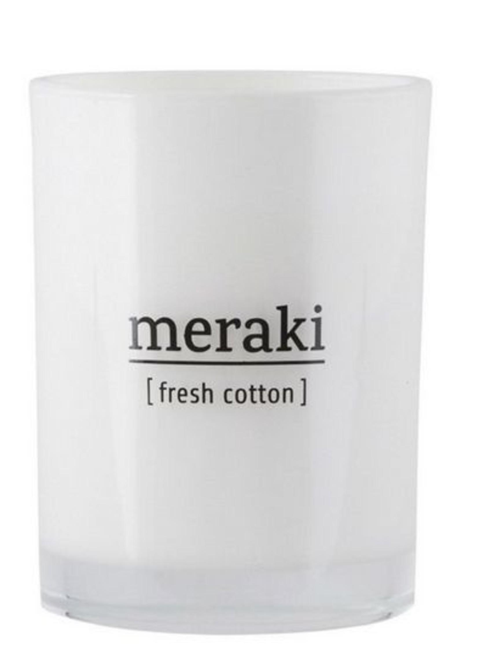 Meraki Scented candle, Fresh cotton