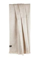 Bufandy Alpaca Shawl FABIAN  White Canvas