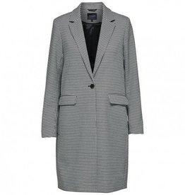 Selected Femme Long Blazer Holla Black/White