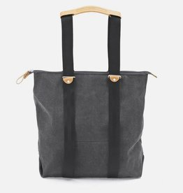 QWSTION Zipshopper Washed Black