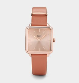 Cluse La Tétragone Rose Gold/Butterscotch
