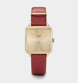 Cluse La Garçonne Gold/Scarlet Red