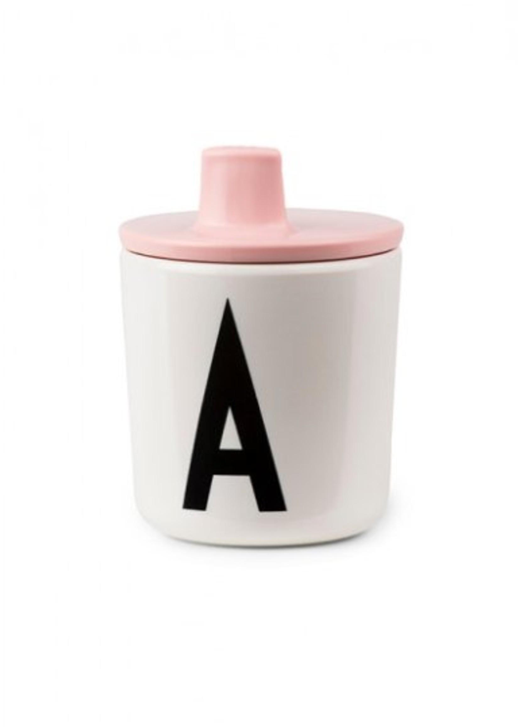 Design Letters Drink Lid Black