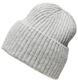 Selected Femme Hat Light Grey Melange