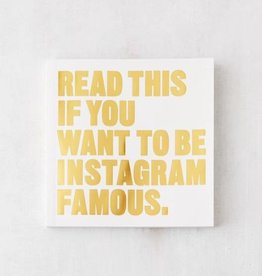 BIS Read this if you want to be Instagram Famous