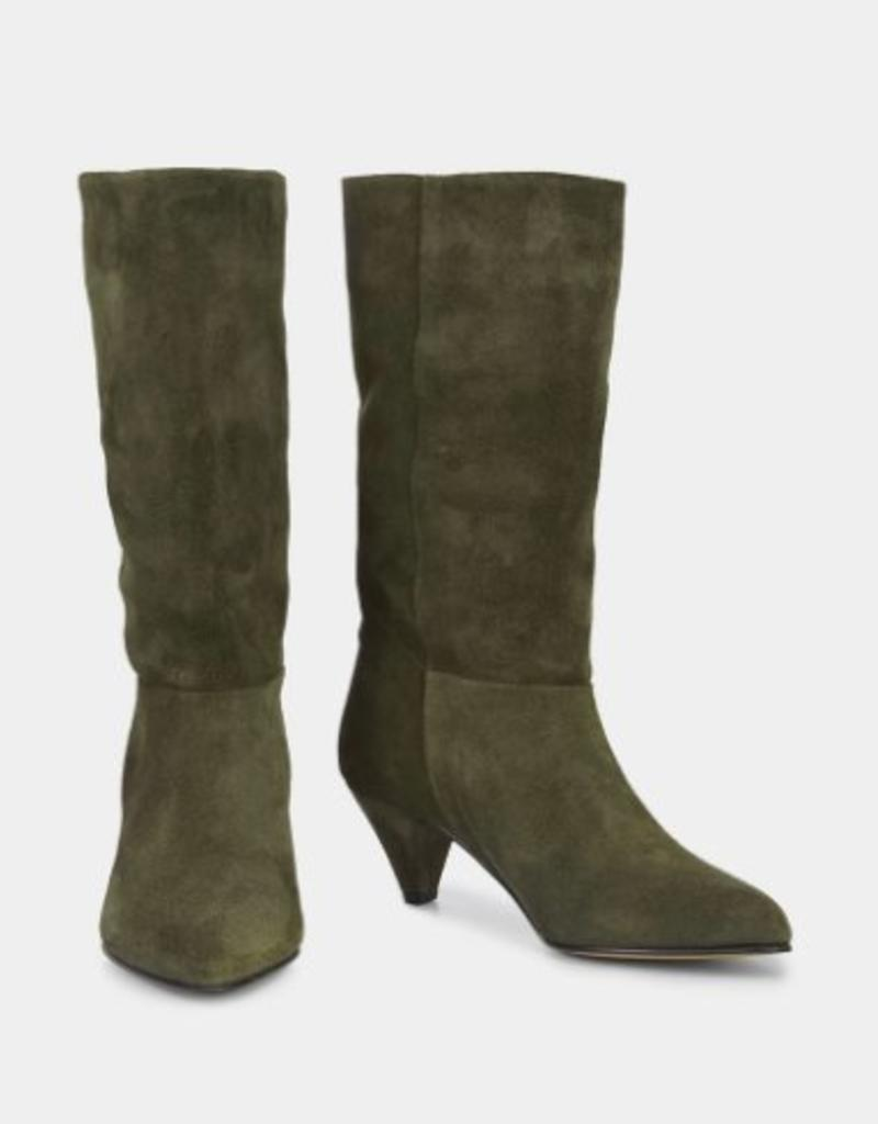 Ivylee Malin Pull Boot Green