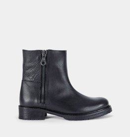 Ivylee Gina- Zip Boot - Black