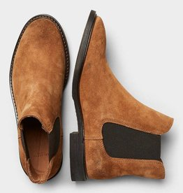 Selected Femme Chelsea Boot Brown