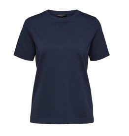 Selected Femme Perfect Tee Limited Blue