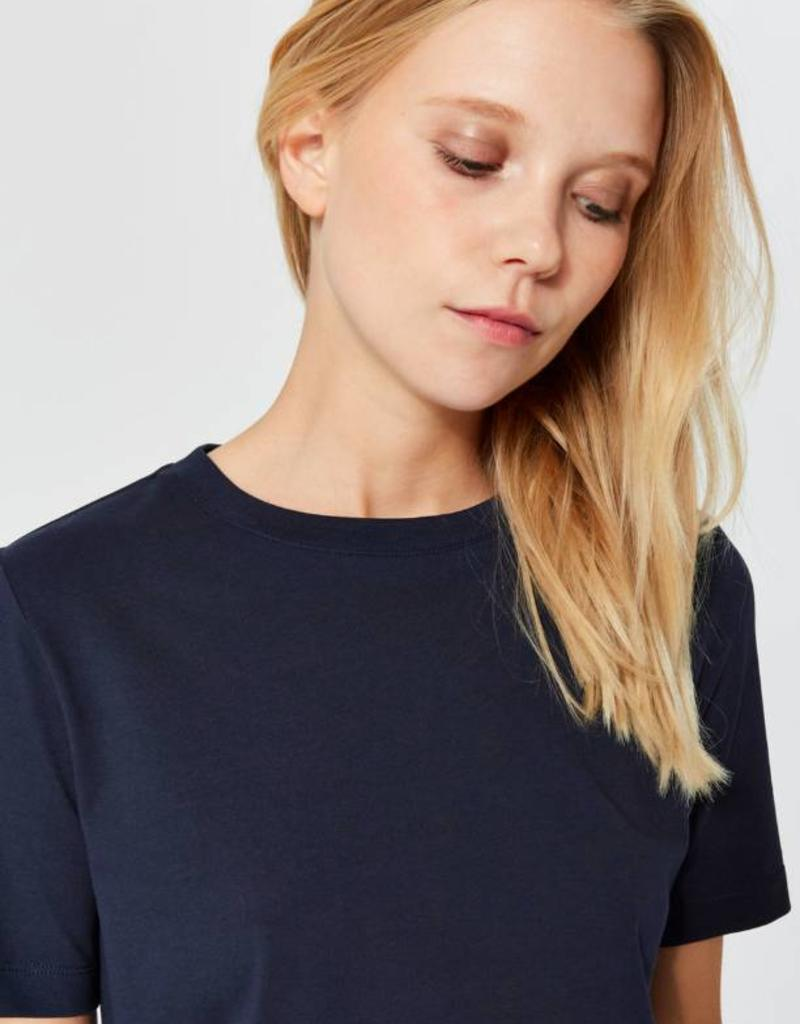 Selected Femme Perfect Tee Blue