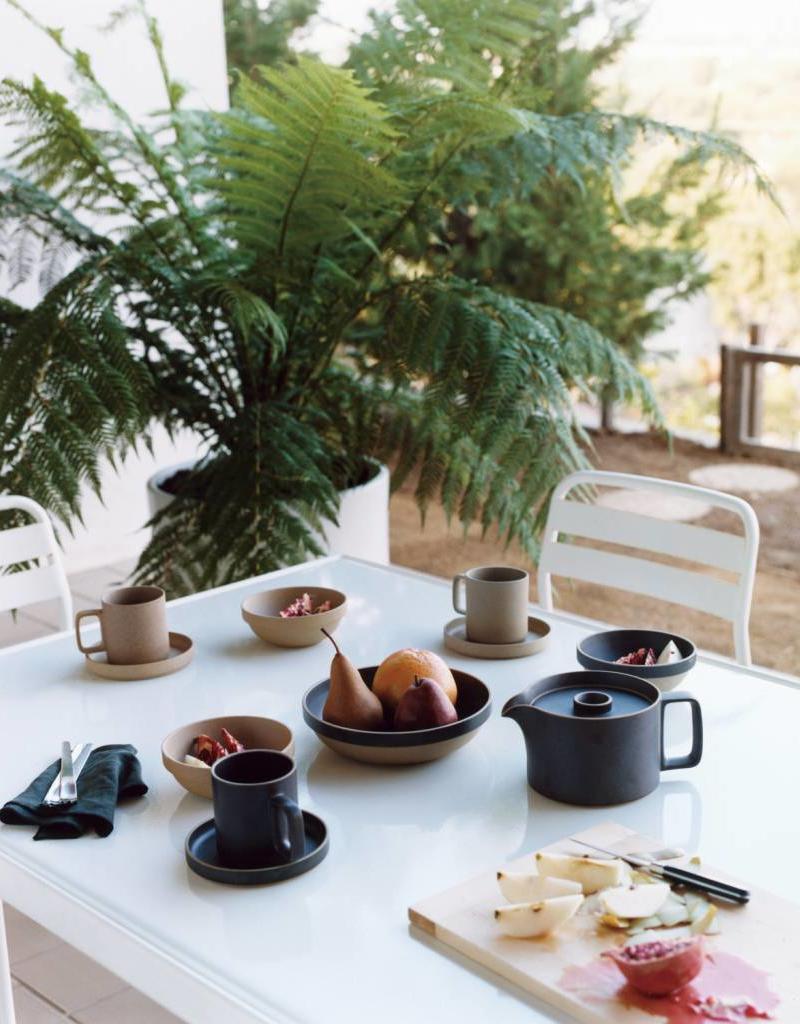Hasami Plate - black  ø185 mm