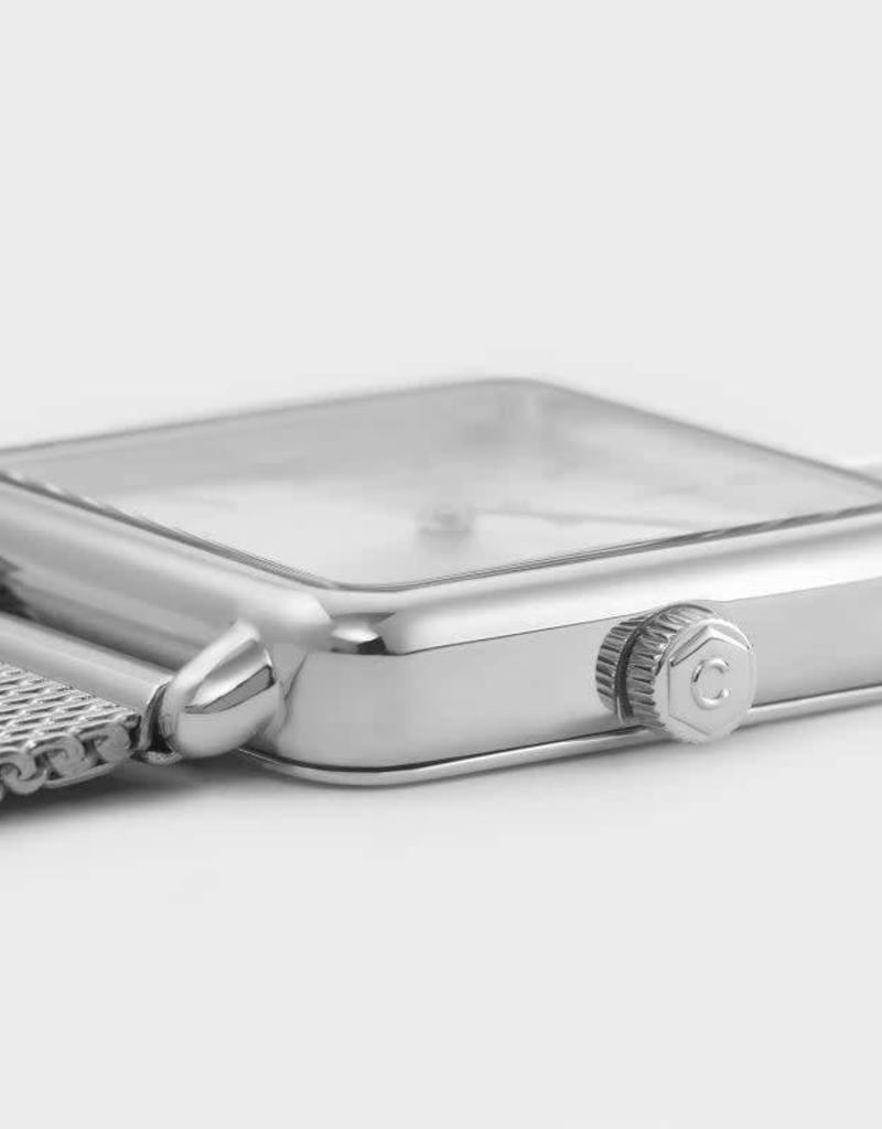 Cluse La Garçonne Mesh Full Silver