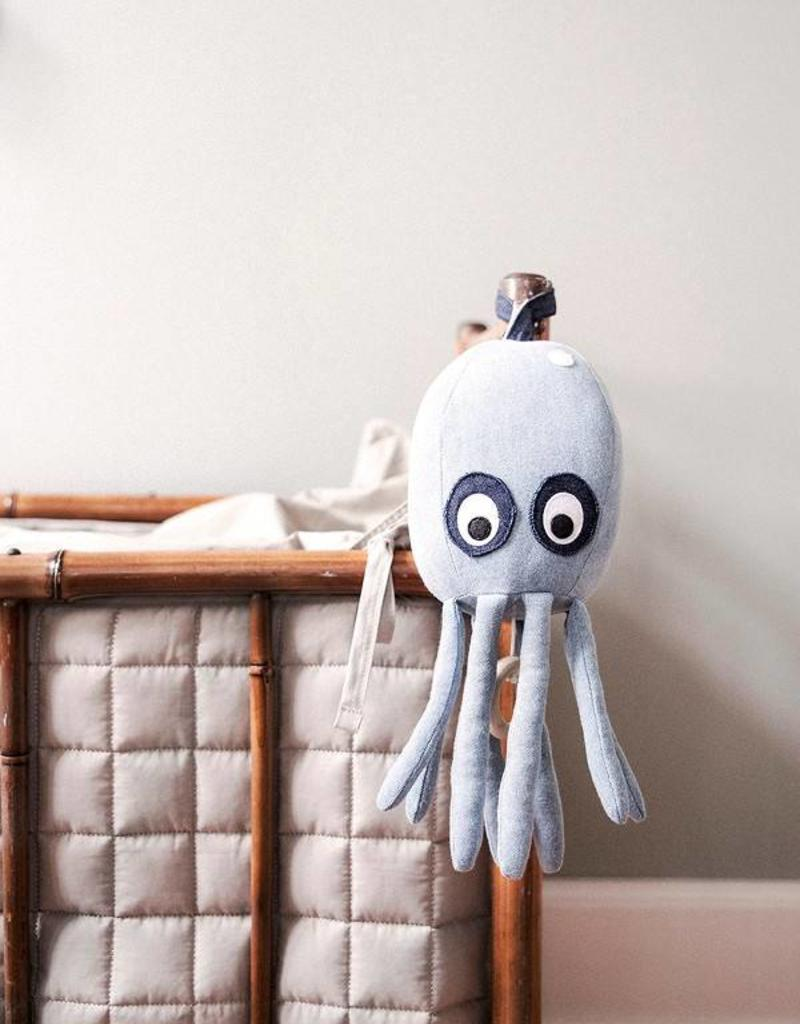 Ferm Living Octopus Music Mobile - Denim