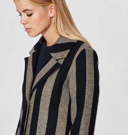 Selected Femme Wool Coat Dark Sapphire
