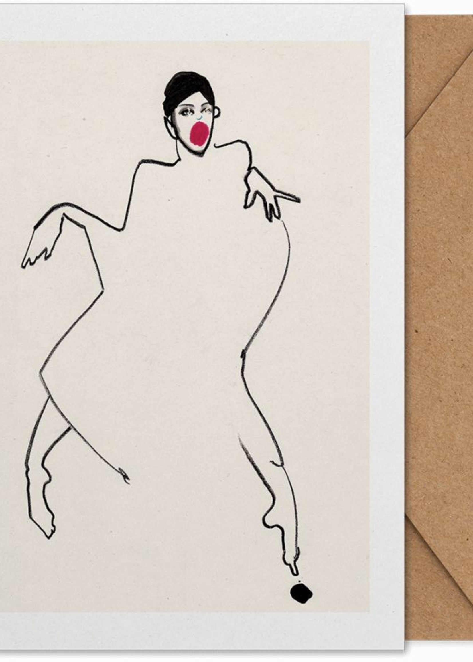 Paper Collective Dancer 02 Art Card