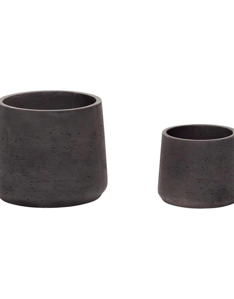 Hubsch Pot Cement Small